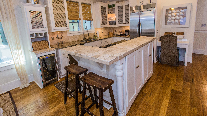 Gourmet appliances and bar